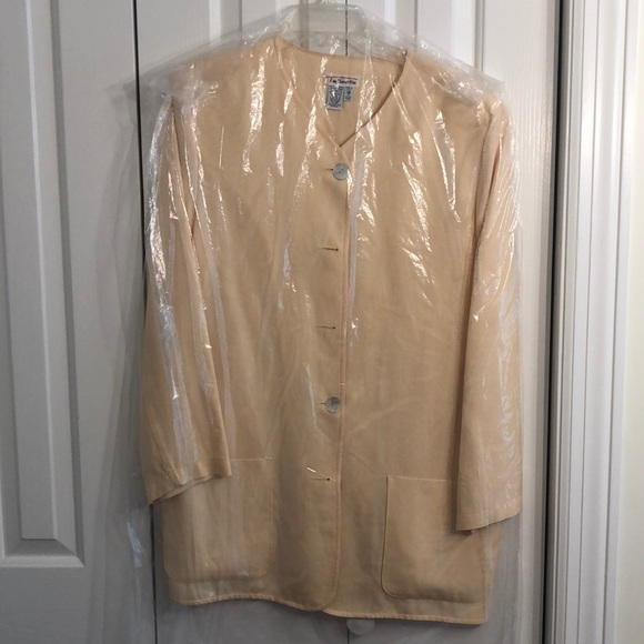 Talbots Jackets & Blazers - Talbots size 18 pretty yellow jacket with pockets